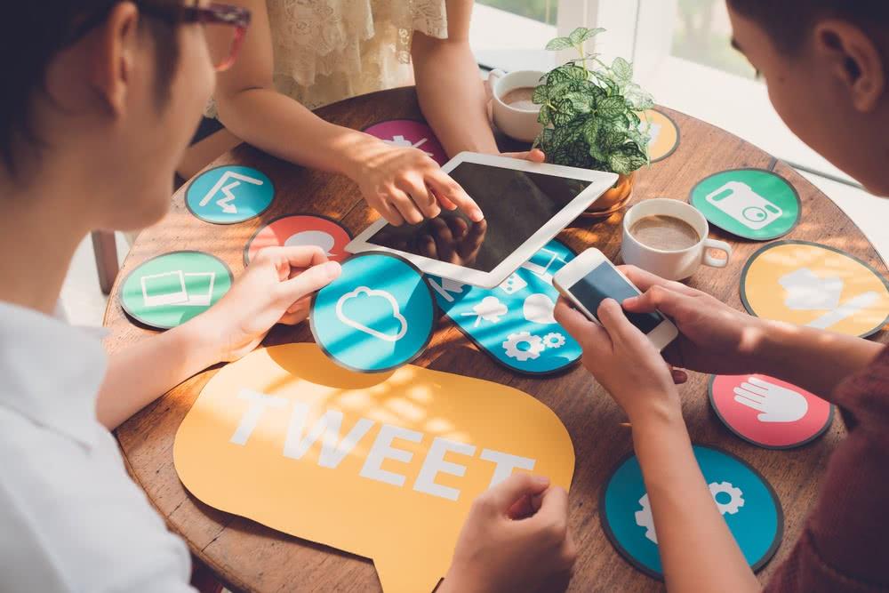 Social Media on Small Business Website