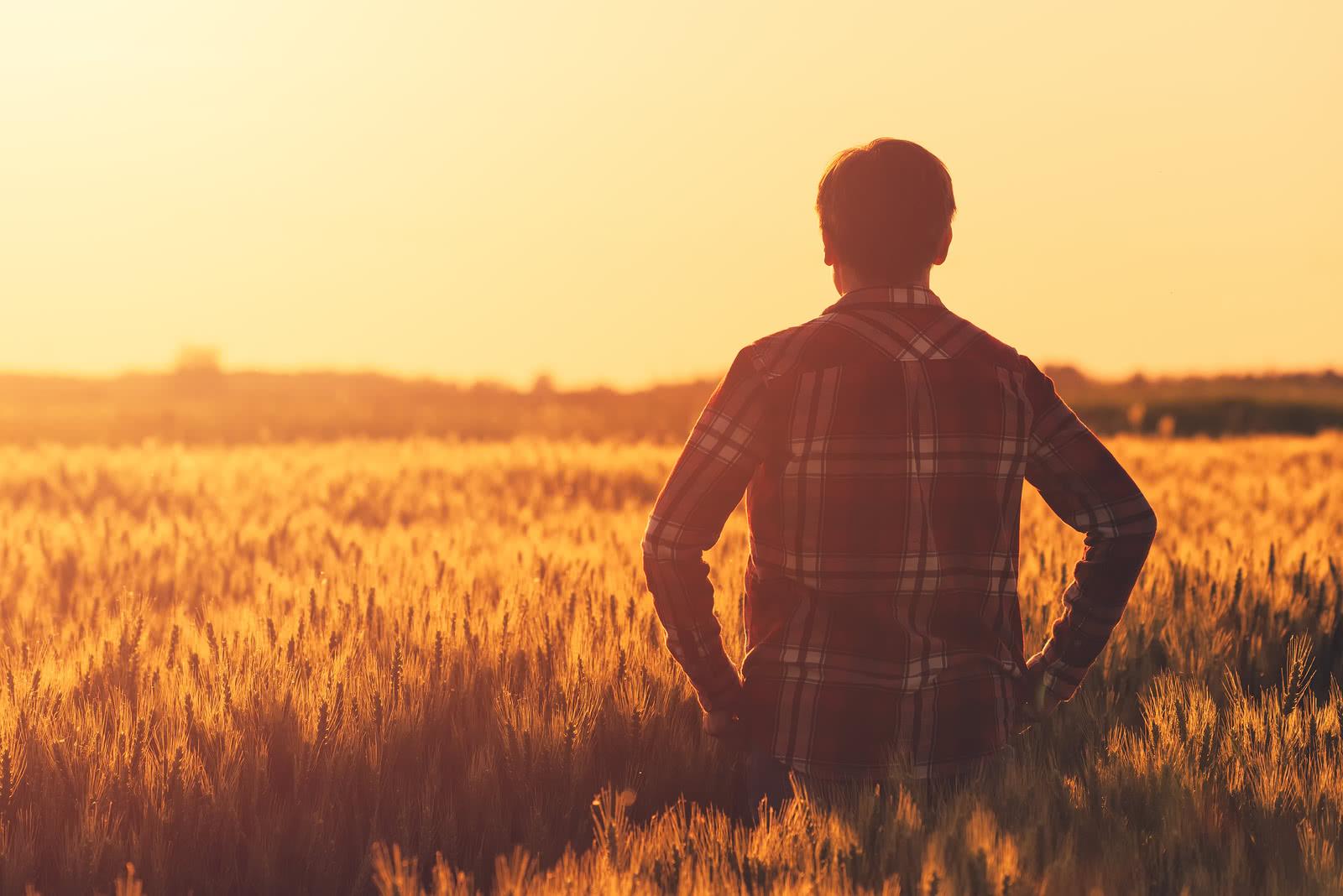 Farmer considers farm equipment financing
