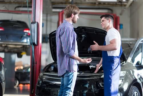 Mechanic provides friendly service, an example of how to raise prices without losing customers