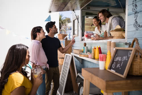 Food truck owners use a top restaurant pos system to process orders