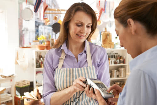 "Business owner buying inventory wonders, ""is credit card interest tax deductible?"""