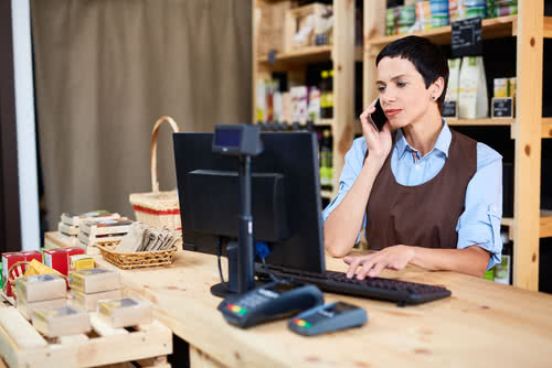Grocery store owner researches how to prevent business identity theft