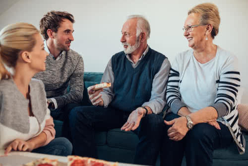 Family of 4 discusses small business estate planning