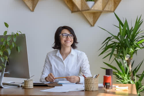 Office plants are one way to make your business more sustainable