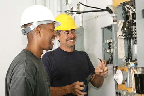 Electrician working with employer who followed small business employment law