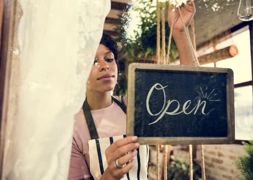 Female business owner used resources for women in business to open cafe